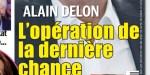 Alain Delon, délicate opération, la fin - le message d'Anouchka (photo)