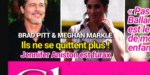 Brad Pitt,  Meghan Markle ne se quittent plus -  Jennifer Aniston furax