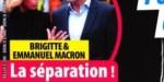 Brigitte, Emmanuel Macron - drame à l'Élysée - La séparation