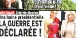 """Brigitte Macron, """"fâchée avec Julie Gayet - Elle ouvre son coeur"""
