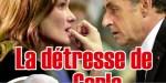 Carla Bruni, grande détresse - terrible maladie de Nicolas Sarkozy, ça se confirme