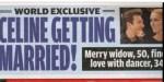 Céline Dion, mariage secret - une surprenante annonce de Pepe Munoz (photo)