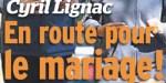 Cyril Lignac, mariage secret - Une célèbre journaliste lui fait perdre la tête
