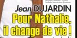 Jean Dujardin n'en peut plus, régime draconien - Coup sournois contre Nathalie Péchalat au Marais (photo)