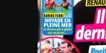 Karine Ferri, Yoann Gourcuff - noyade en pleine mer, un drame qui gâche leurs vacances