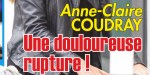 Anne-Claire Coudray, en couple avec Nicolas Vix - Douloureuse rupture (photo)