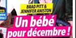 Jennifer Aniston, Brad Pitt, un bébé pour décembre, ça se précise  (photo)