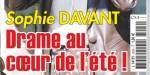 Sophie Davant - drame en plein été - La décision inattendue de France 2