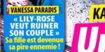 Vanessa Paradis - Lily-Rose Depp, une ennemie intime - un SMS trouble