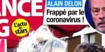 Alain Delon - coronavirus, nerf optique - la réalité sur son état