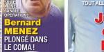 Bernard Ménez, plongé dans le coma, après une opération banale