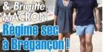 Brigitte Macron, la diète estivale - Un Régime sec à Brégançon