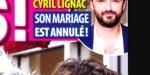 Cyril Lignac,  son mariage avec Déborah annulé, la raison