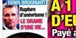 Denis Brogniart, rupture d'anévrisme - son SOS à Emmanuel Macron (photo)