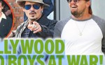Johnny Depp et Leonardo DiCaprio - guerre ouverte - Lily-Rose Depp sème le trouble (photo)