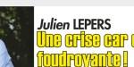 Julien lepers, drame, une crise cardiaque foudroyante (photo)