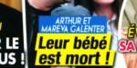 Mareva Galanter,  Arthur - choc en plein été - leur bébé est mort (photo)