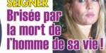 Mathilde Seigner en deuil -  Brisée par la mort de l'homme de sa vie