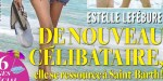 Estelle Lefébure, sa rupture Olivier - célibataire, elle se ressource à Saint-Barth (photo)