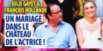 Julie Gayet, François Hollande - un mariage dans le château de l'actrice (photo)