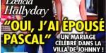 Laeticia Hallyday - Oui j'ai épousé Pascal - Un mariage célébré dans la villa de Johnny (photo)