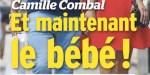 Camille Combal comblé avec Marie - Un bébé en route