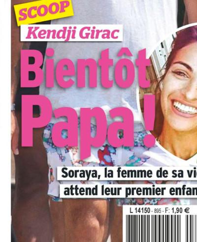Kendji Girac Bientot Papa Soraya Miranda Attend Un Enfant Photo