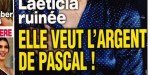 Laeticia Hallyday intéressée par l'argent de Pascal - énigmatique message