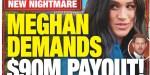 Prince William, Kate Middleton, compensation de 90 millions, exigence de Meghan Markle