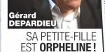 Gérard Depardieu, un pilier, sa grande promesse à sa petite-fille orpheline