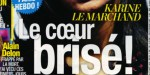 """Karine Le Marchand """"brisée"""" par son ex - Une sortie au resto provoque leur rupture"""