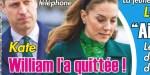 Kate Middleton, une sale rupture par téléphone, William l'a quittée