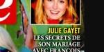 """Julie Gayet """"trahie"""" avec une danseuse,   les secrets de son mariage avec François Hollande (photo)"""
