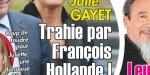 "Juliette Gernez ""brise"" Julie Gayet - François Hollande, l'histoire ancienne"