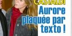 Benjamin Castaldi, sa femme Aurore plaquée par texto