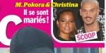 Christina Milian, M. Pokora, mariage secret à Paris, c'est confirmé (photo)