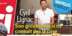 Cyril Lignac, ses affaires ne connaissent pas la crise