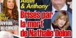 Alain Delon face à la mort de son ex - Grâce à Anthony, il n'est pas seul
