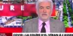 Pascal Praud blessé sur C News - Un geste insupportable d'Olivier Véran dénoncé