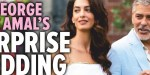 George et Amal Clooney renouvellent leurs voeux de mariage, ce détail qui a tout changé