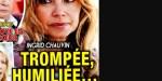 Ingrid Chauvin, trompée et humiliée, son énigmatique message (photo)