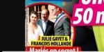 Julie Gayet mariée en secret - grosse déception avec François Hollande