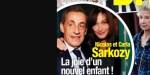 Carla Bruni et Nicolas Sarkozy, la joie d'un nouvel enfant, réjouissante nouvelle