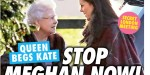 Elisabeth II supplie Kate Middleton - mission secrète pour stopper Meghan Markle (photo)