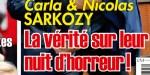 Carla Bruni et Nicolas Sarkozy, la vérité sur leur nuit de terreur