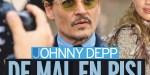Johnny Depp au fond du seau - Ce message qui fait chaud au coeur de Lily-Rose Depp