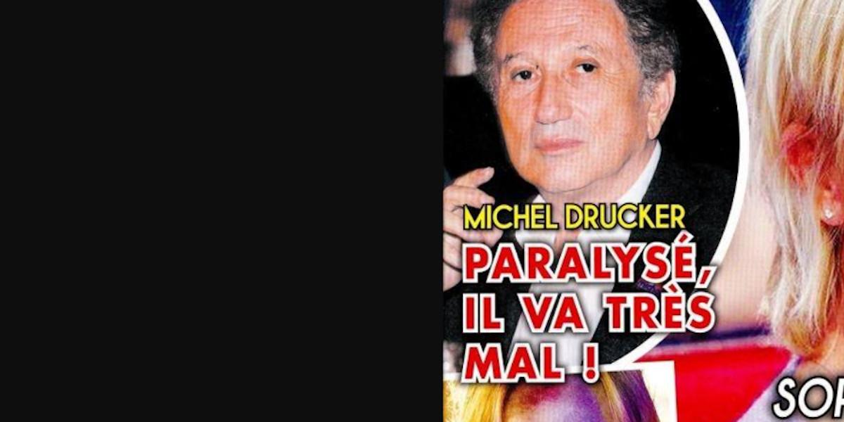 Michel Drucker paralysé et au plus mal, mise au point avec Carla Bruni