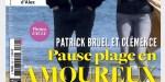 Patrick Bruel cap sur Deauville avec Clémence, le couple se remonte le moral en plein Covid