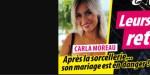 Carla Moreau, après la sorcellerie…son mariage est en danger