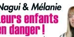 Nagui et Mélanie Page, leurs enfants en danger
